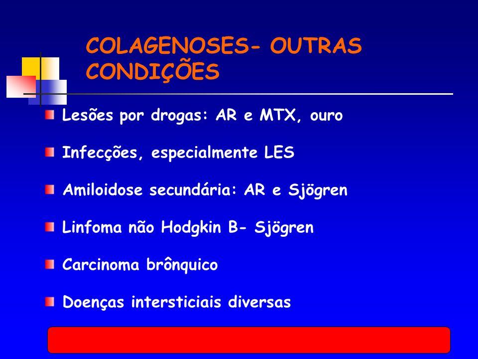 COLAGENOSES- OUTRAS CONDIÇÕES
