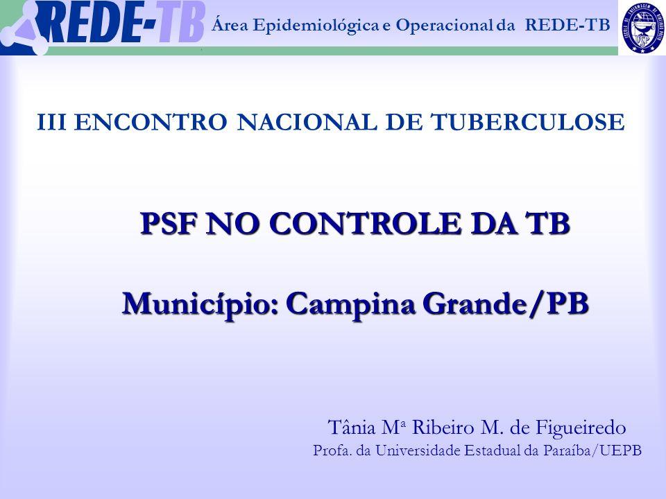 III ENCONTRO NACIONAL DE TUBERCULOSE
