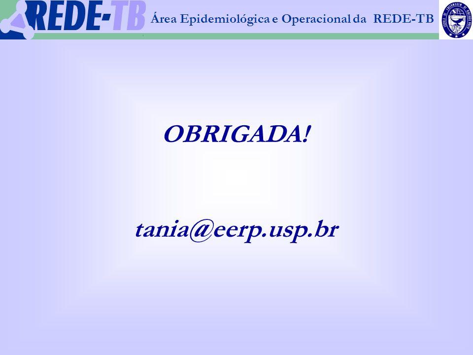 OBRIGADA! tania@eerp.usp.br