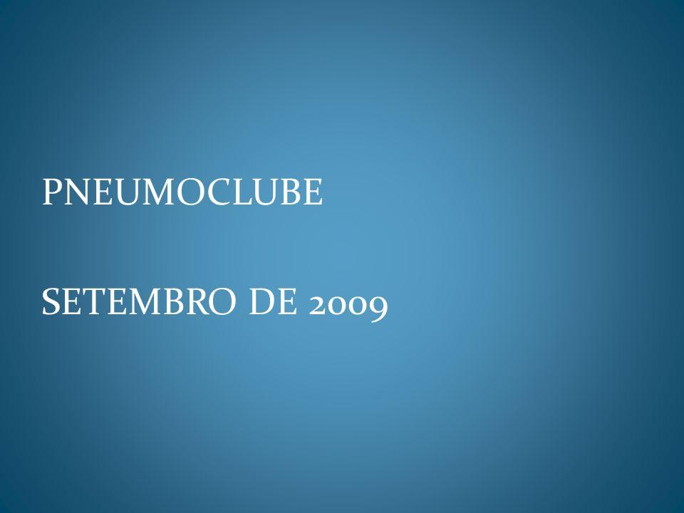 PNEUMOCLUBE SETEMBRO DE 2009