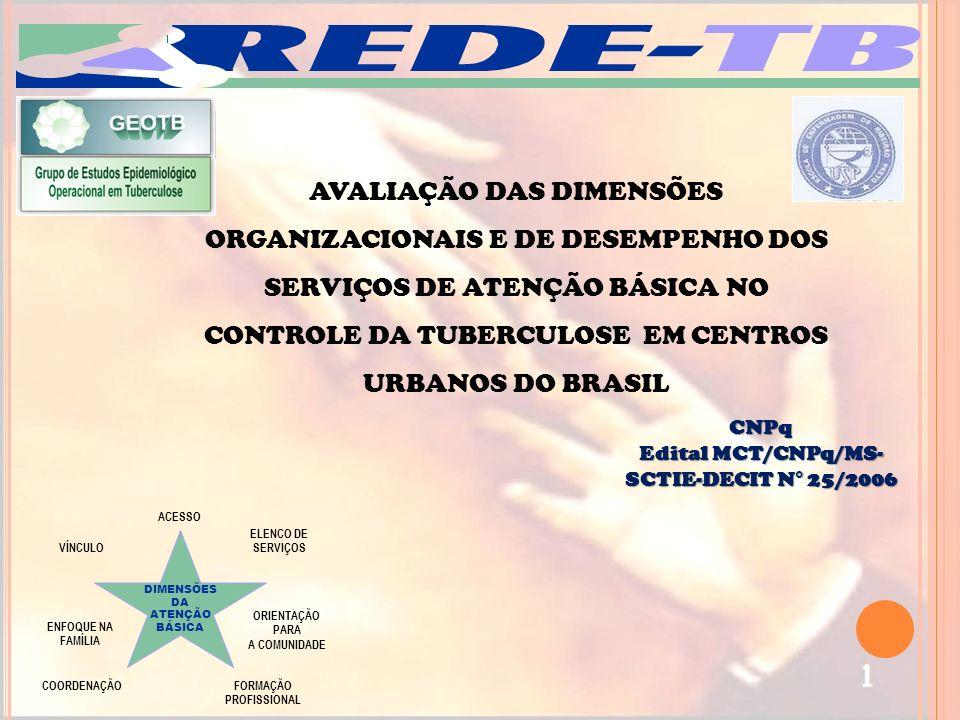 Edital MCT/CNPq/MS-SCTIE-DECIT N° 25/2006