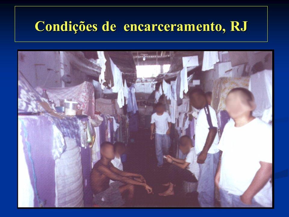 Condições de encarceramento, RJ