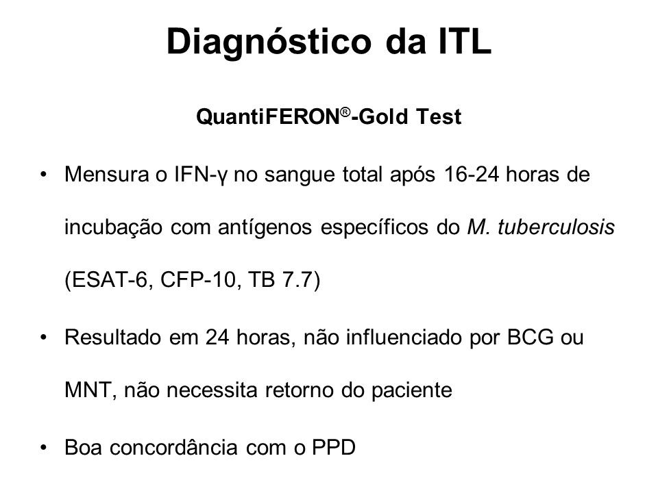 QuantiFERON®-Gold Test