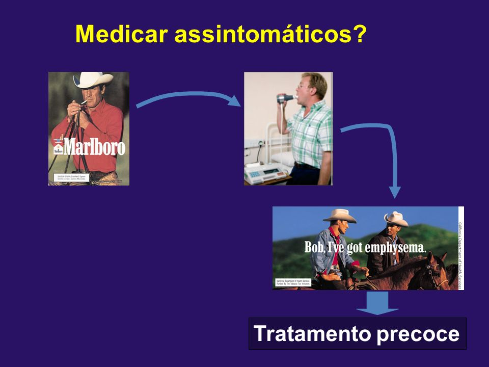 Medicar assintomáticos