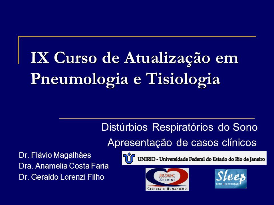 IX Curso de Atualização em Pneumologia e Tisiologia