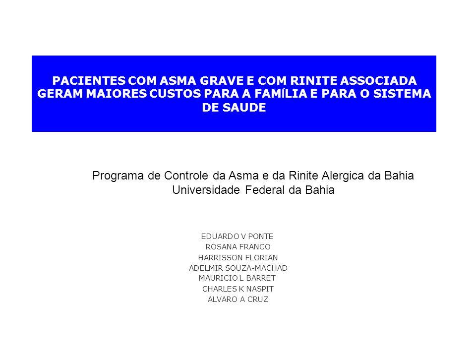 Programa de Controle da Asma e da Rinite Alergica da Bahia