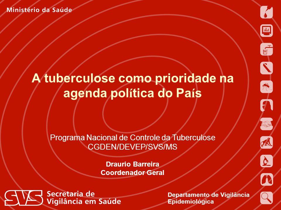 A tuberculose como prioridade na agenda política do País