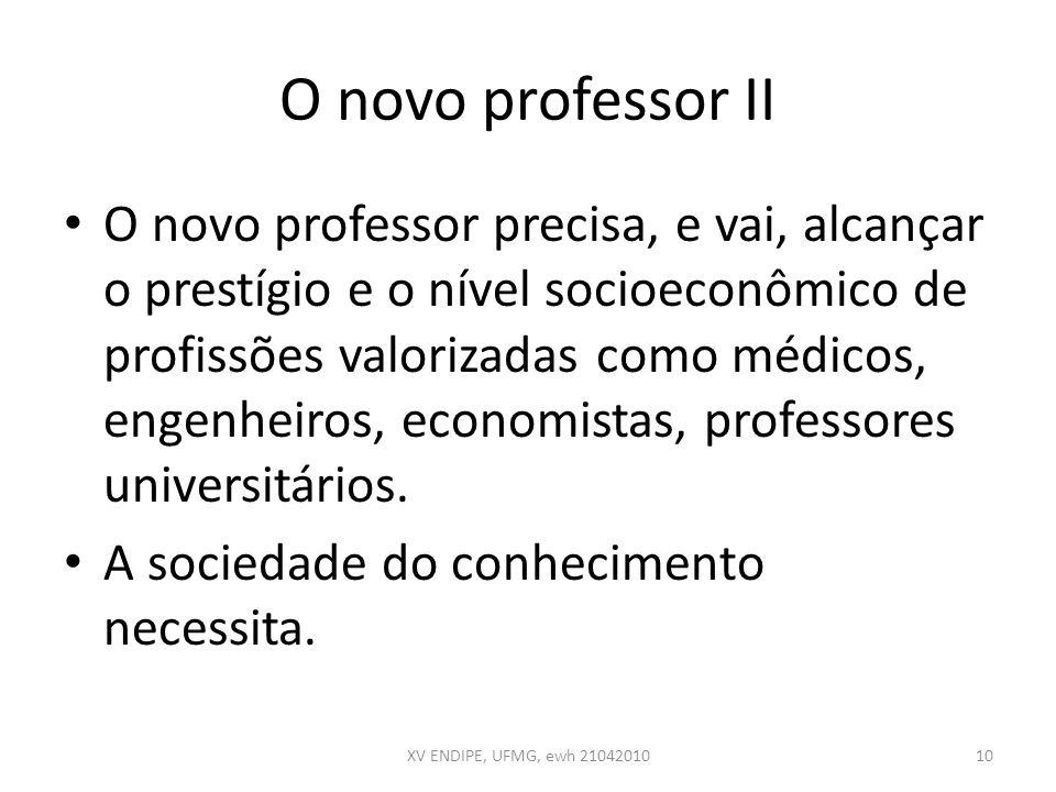 O novo professor II