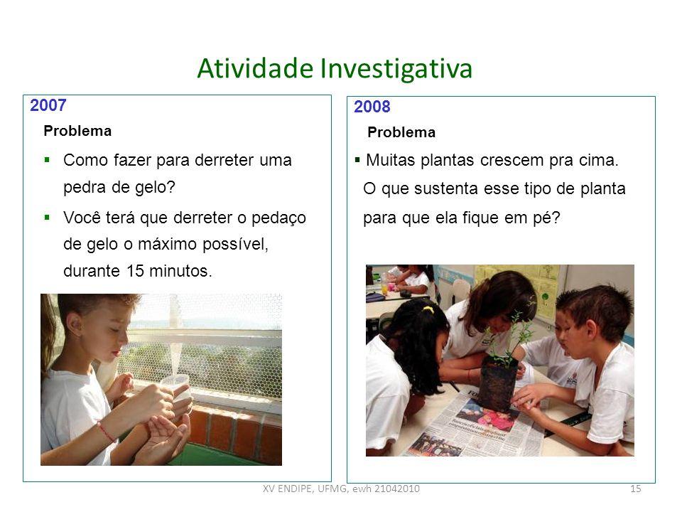 Atividade Investigativa