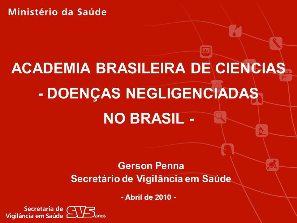 ACADEMIA BRASILEIRA DE CIENCIAS - DOENÇAS NEGLIGENCIADAS NO BRASIL -
