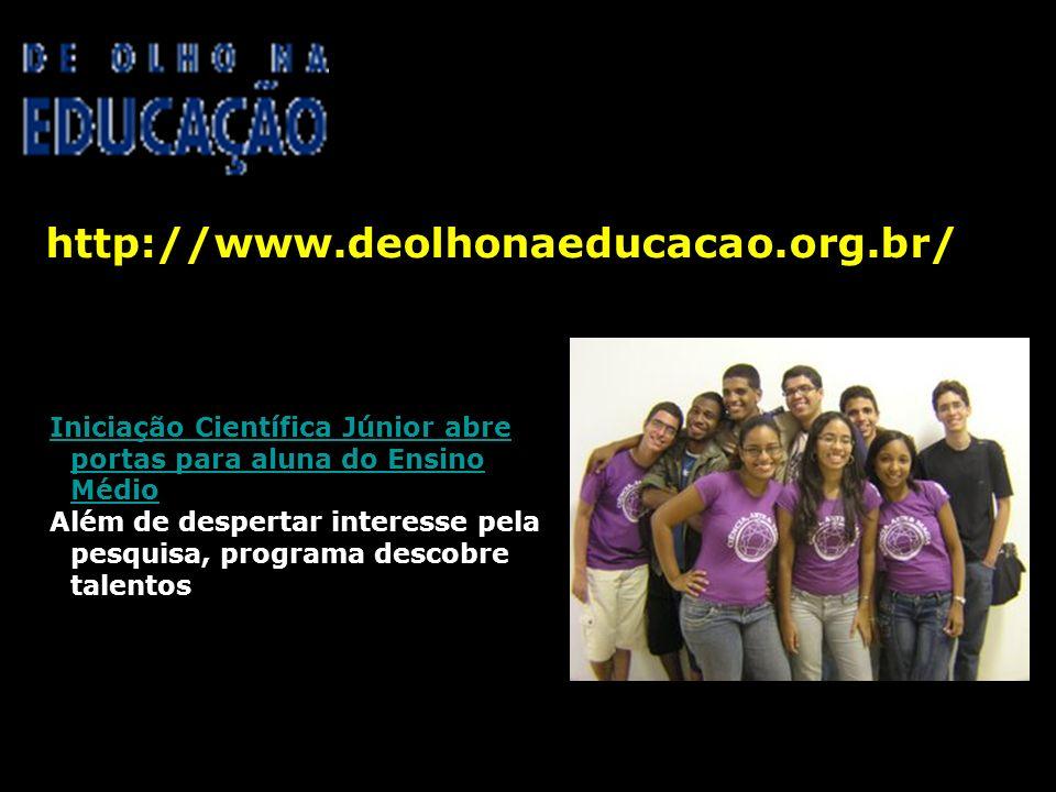 http://www.deolhonaeducacao.org.br/ 06/06/2008