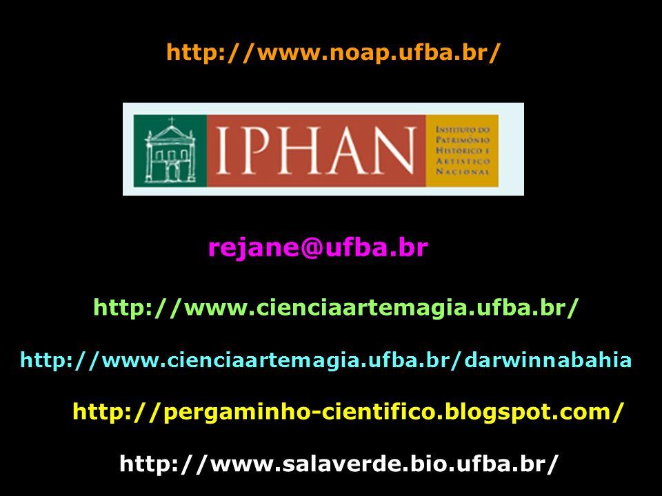 rejane@ufba.br http://www.noap.ufba.br/