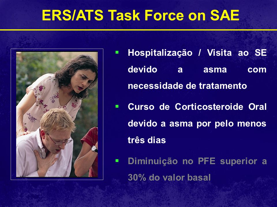 ERS/ATS Task Force on SAE