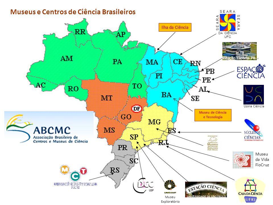 Museus e Centros de Ciência Brasileiros