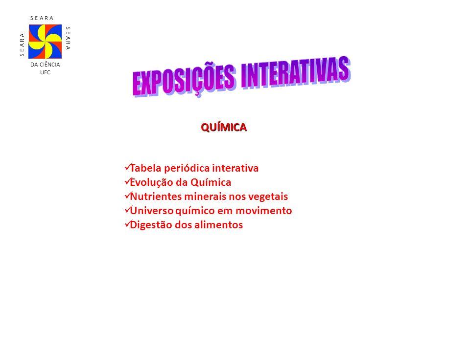 EXPOSIÇÕES INTERATIVAS