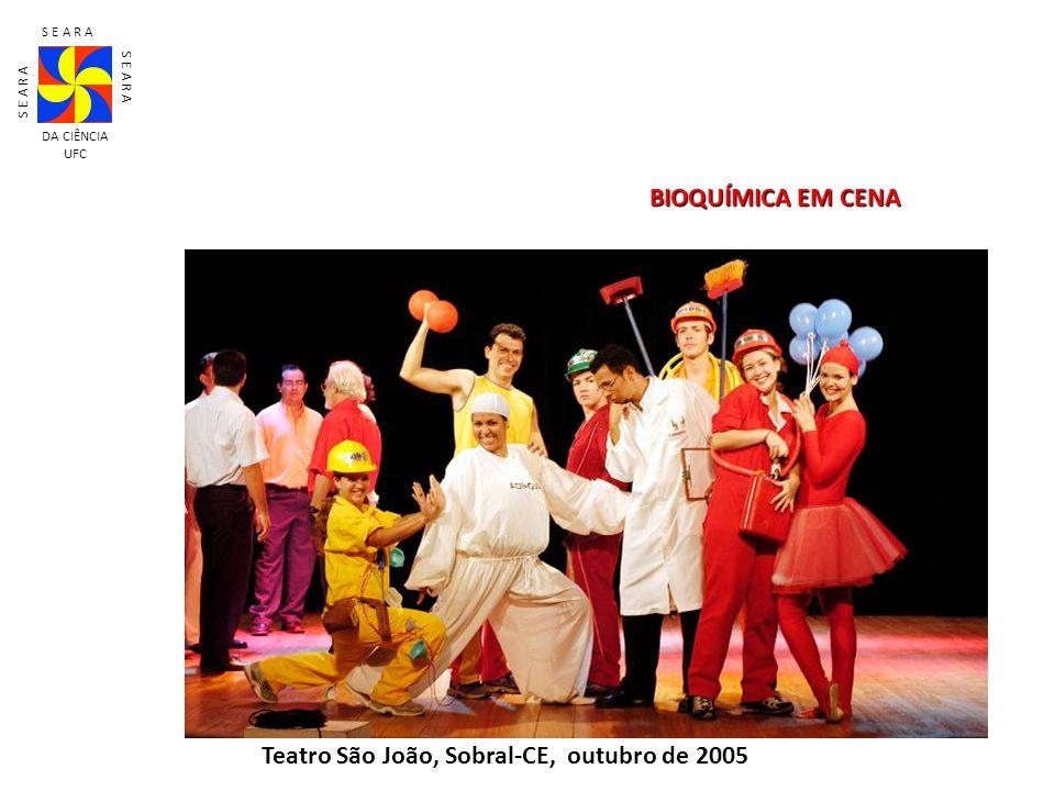 Teatro São João, Sobral-CE, outubro de 2005