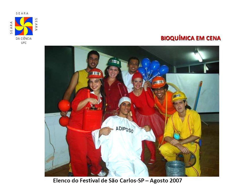 Elenco do Festival de São Carlos-SP – Agosto 2007