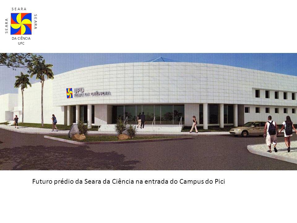 Futuro prédio da Seara da Ciência na entrada do Campus do Pici