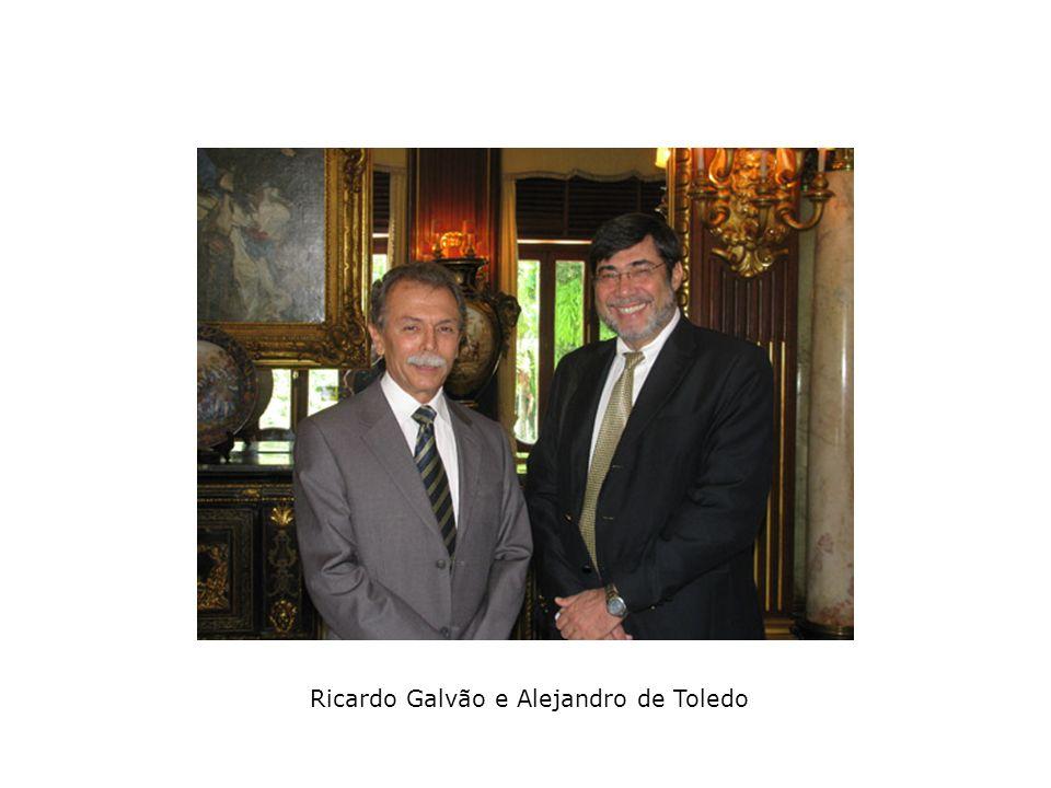 Ricardo Galvão e Alejandro de Toledo