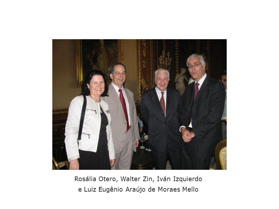 Rosália Otero, Walter Zin, Iván Izquierdo