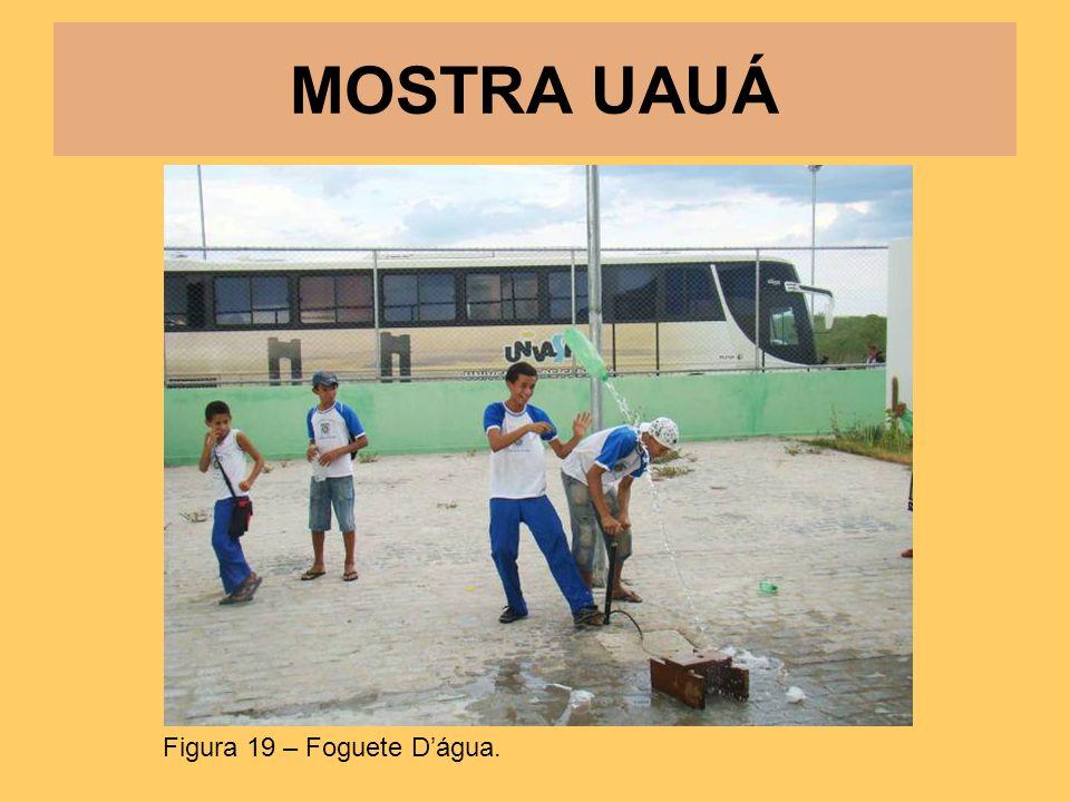 MOSTRA UAUÁ Figura 19 – Foguete D'água.