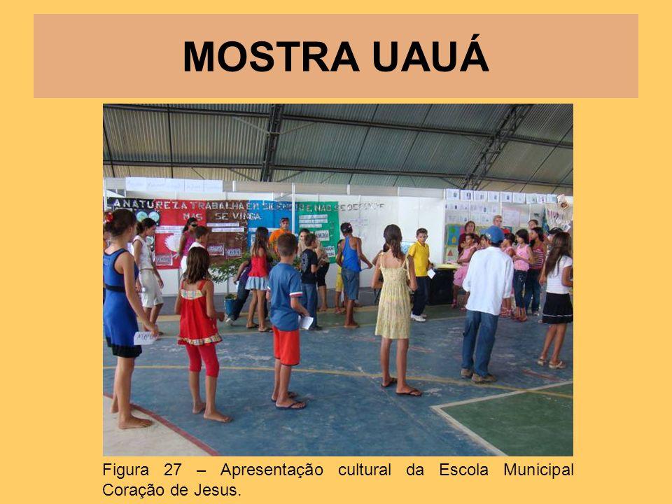 MOSTRA UAUÁ Figura 27 – Apresentação cultural da Escola Municipal Coração de Jesus.
