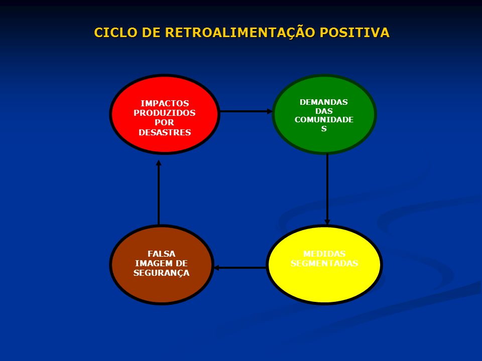 CICLO DE RETROALIMENTAÇÃO POSITIVA