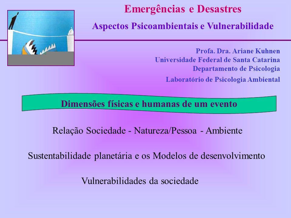 Emergências e Desastres