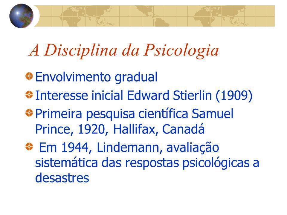 A Disciplina da Psicologia