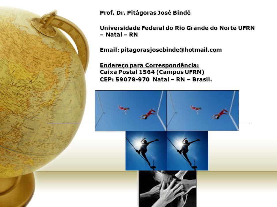 Prof. Dr. Pitágoras José Bindé
