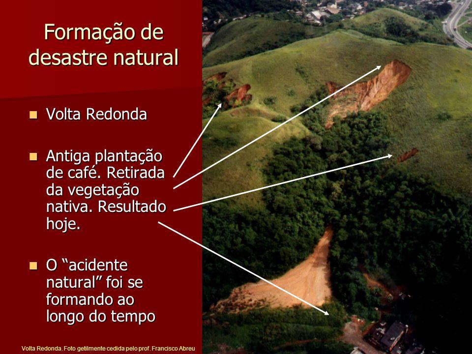 Formação de desastre natural