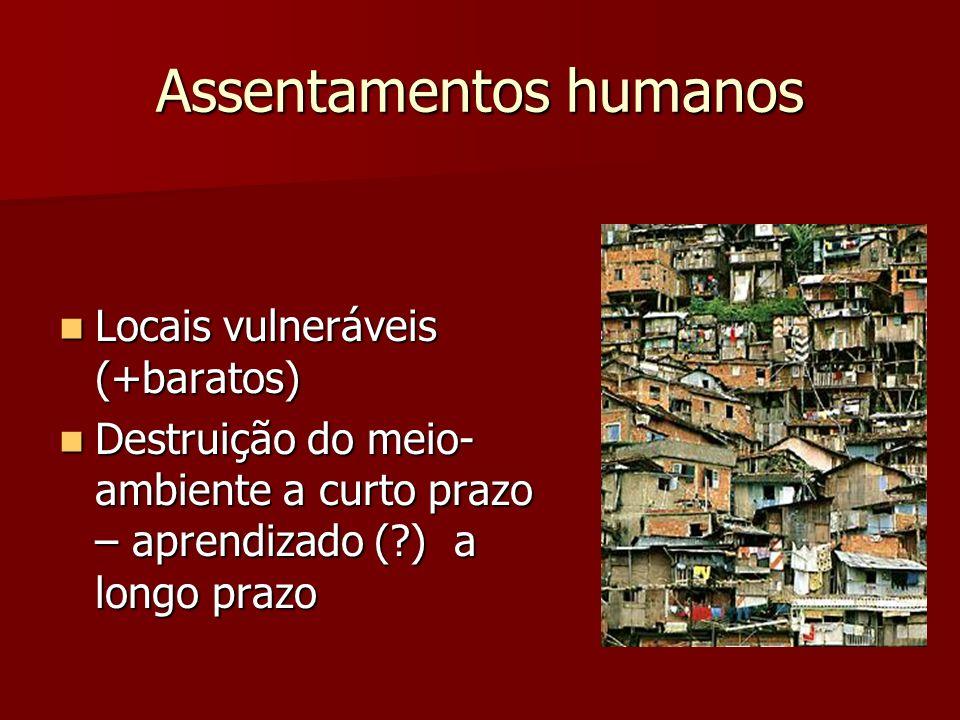 Assentamentos humanos
