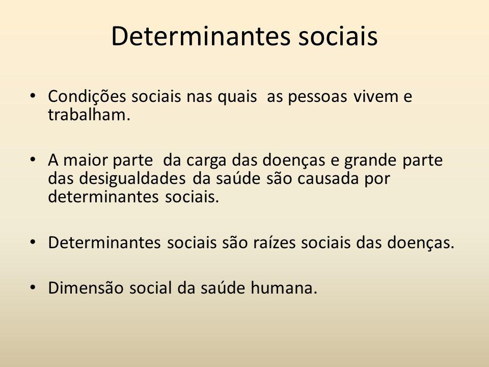 Determinantes sociais