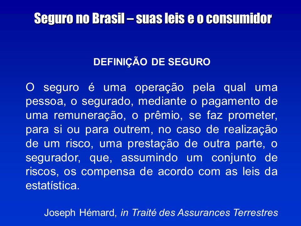 Seguro no Brasil – suas leis e o consumidor