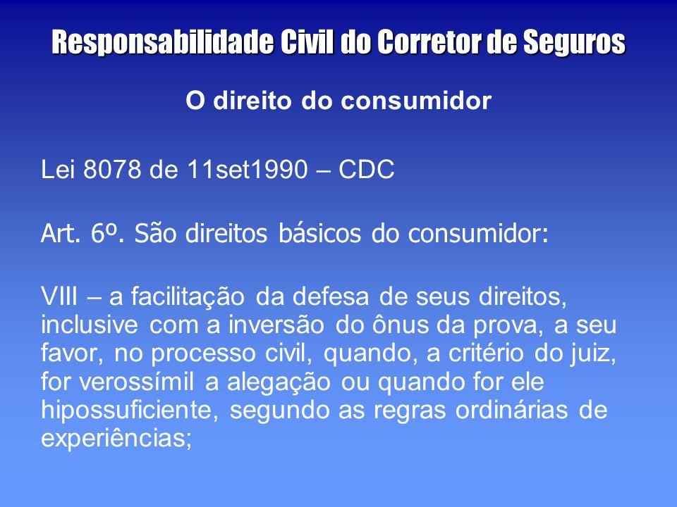 Responsabilidade Civil do Corretor de Seguros