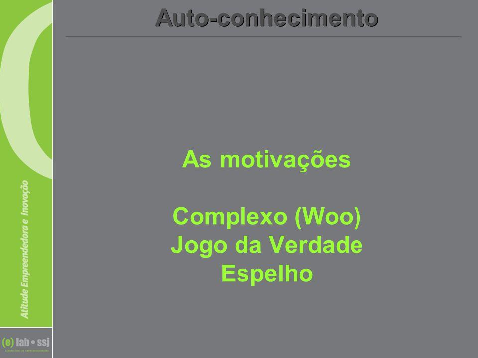 As motivações Complexo (Woo) Jogo da Verdade Espelho