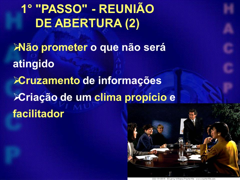 1° PASSO - REUNIÃO DE ABERTURA (2)