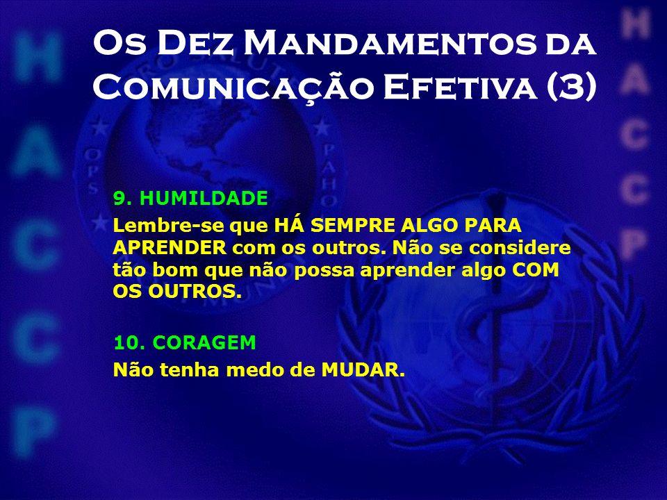 Os Dez Mandamentos da Comunicação Efetiva (3)
