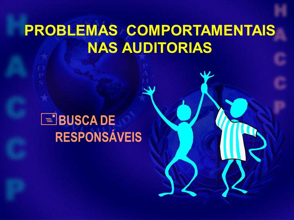 PROBLEMAS COMPORTAMENTAIS BUSCA DE RESPONSÁVEIS