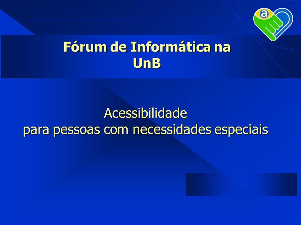 Fórum de Informática na UnB