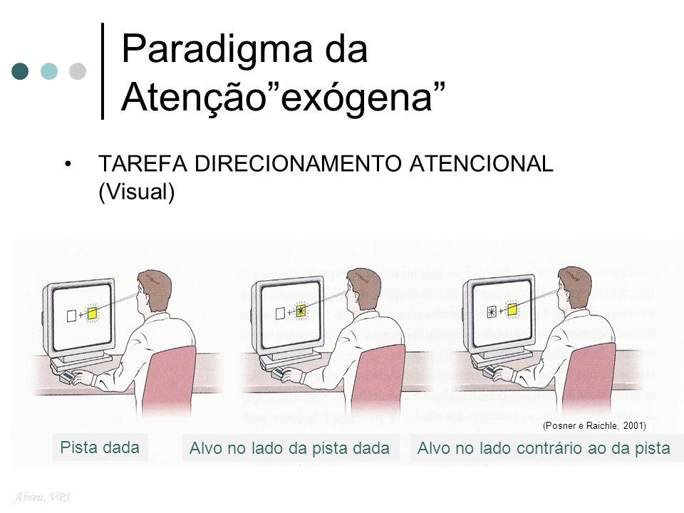 Paradigma da Atenção exógena