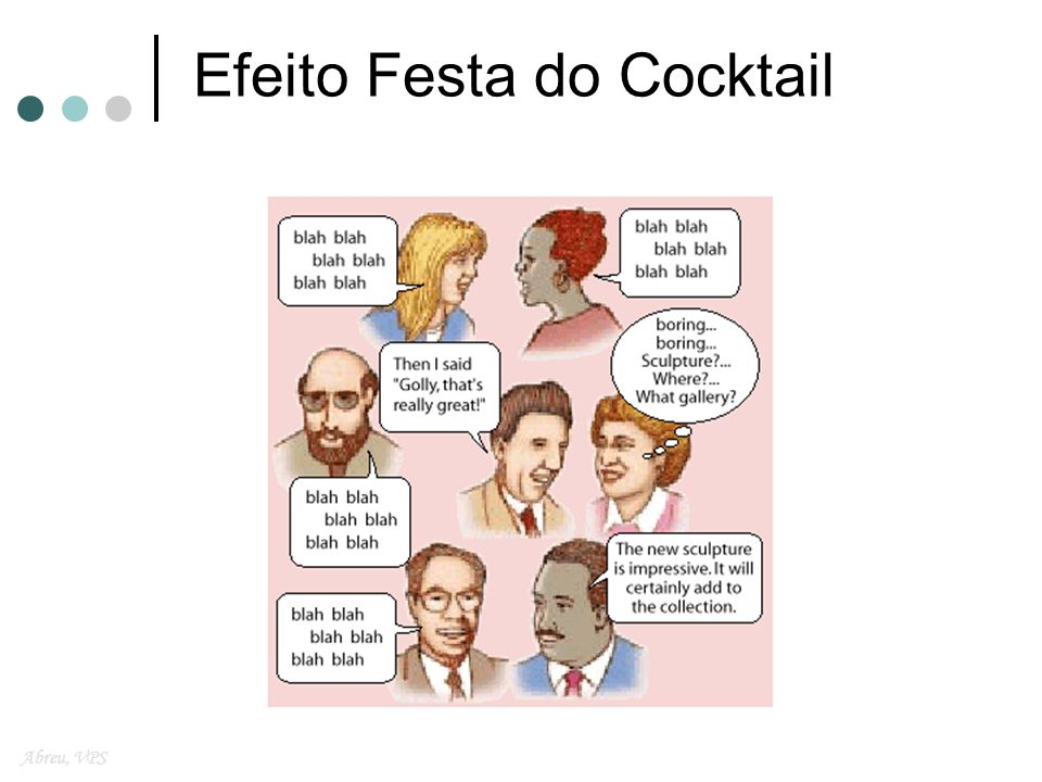 Efeito Festa do Cocktail