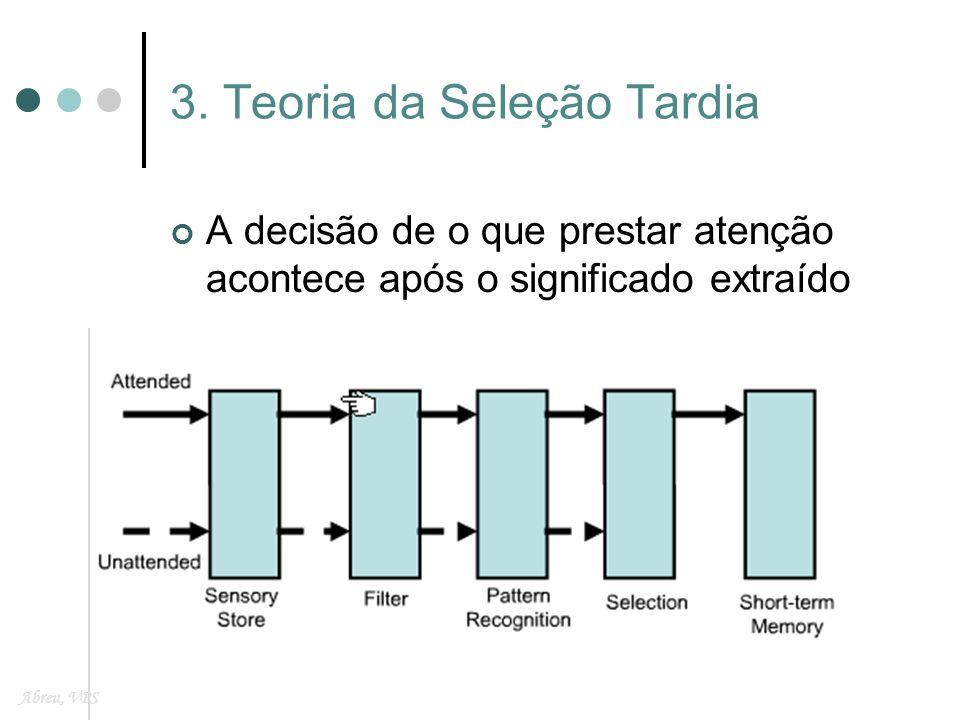 3. Teoria da Seleção Tardia