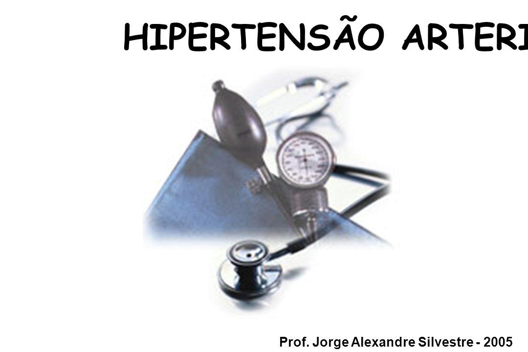 HIPERTENSÃO ARTERIAL Prof. Jorge Alexandre Silvestre - 2005