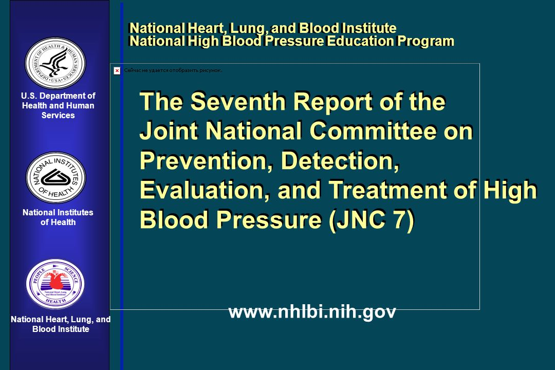 Health and Human Services National Heart, Lung, and Blood Institute