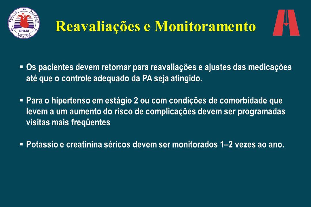 Reavaliações e Monitoramento
