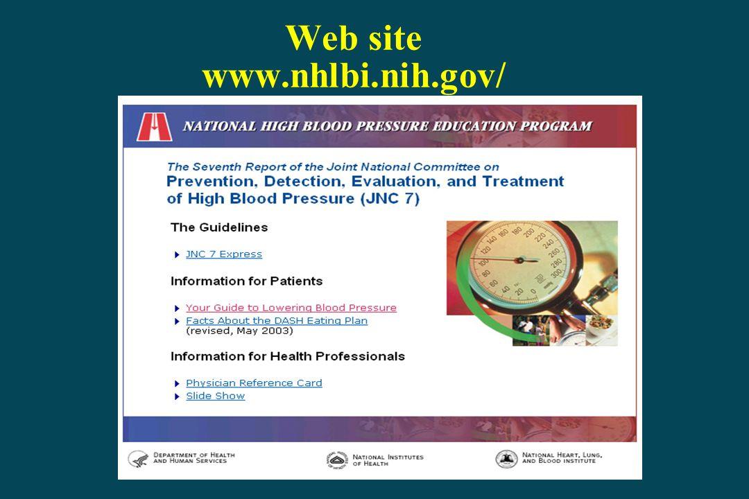 Web site www.nhlbi.nih.gov/