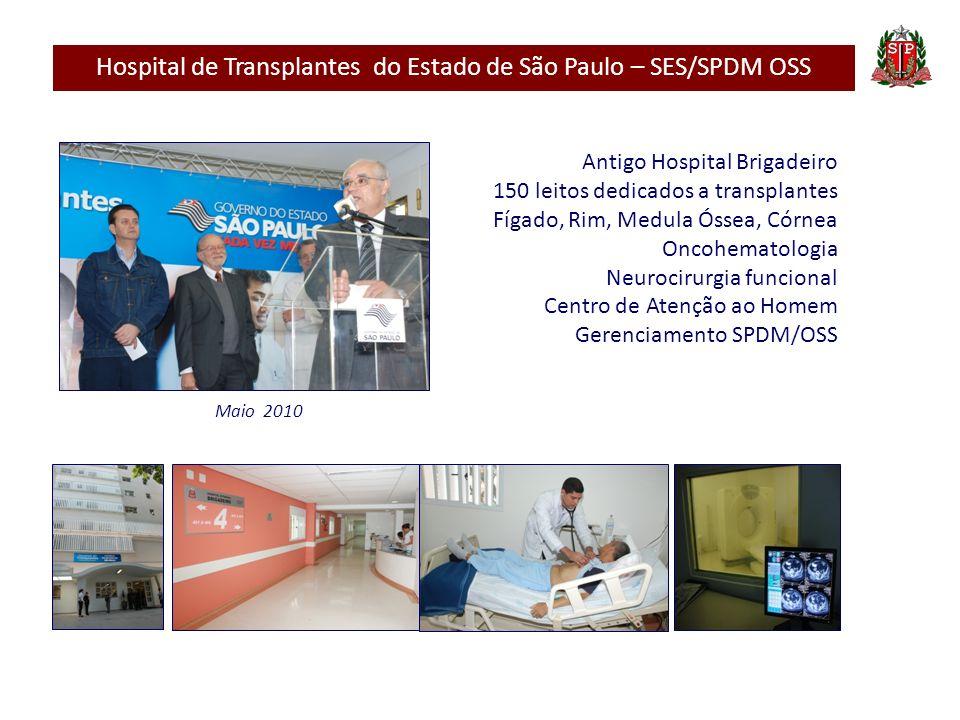 Hospital de Transplantes do Estado de São Paulo – SES/SPDM OSS