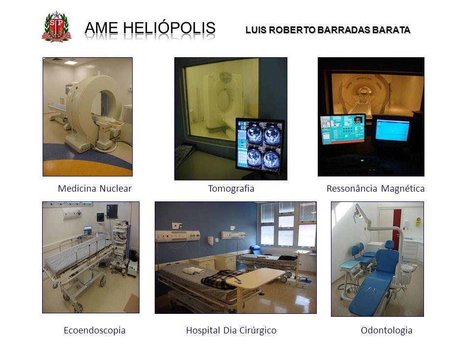 AME Heliópolis Medicina Nuclear Tomografia Ressonância Magnética