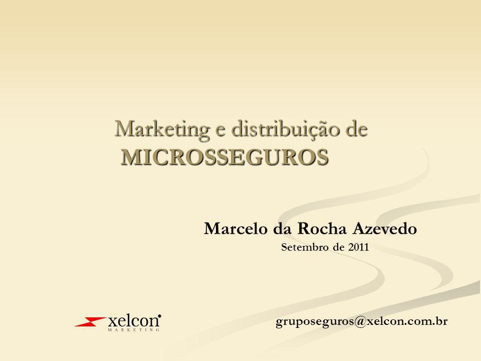 Marketing e distribuição de MICROSSEGUROS